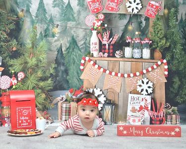 Gabriella Elizabeth Christmas 2020