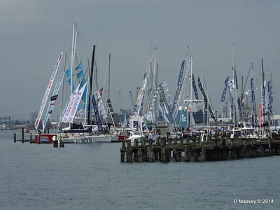 Boat Show from Town Quay 13 Sep 2014