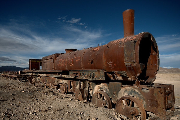 Uyuni and the Train Cemetery