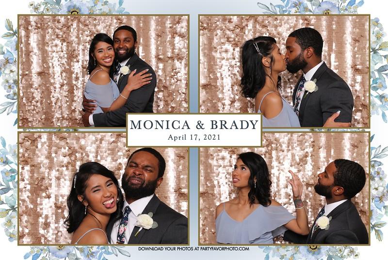 Monica and Brady's Wedding