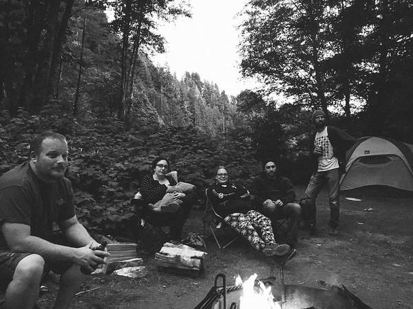 Camping, Blackberry, Oregon 2017