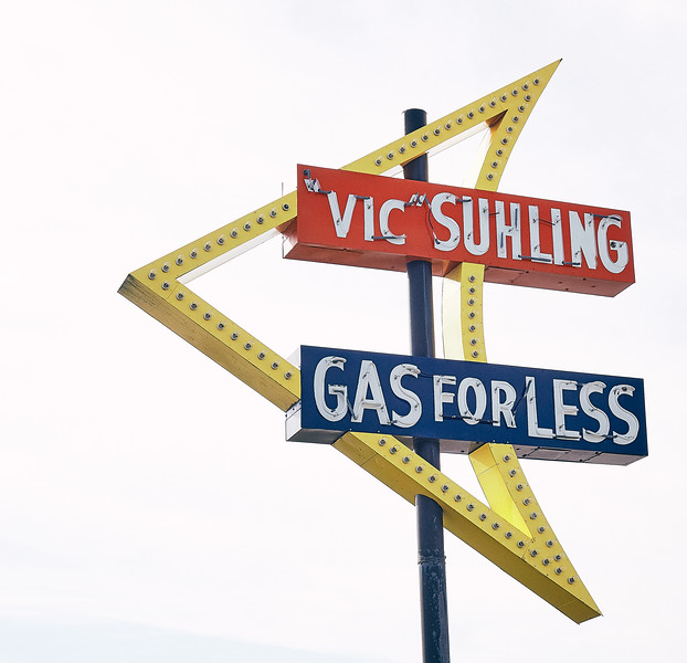 Route 66 - Litchfield, Vic Suhling sign