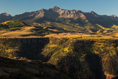 Wilson Peak outside of Telluride, CO