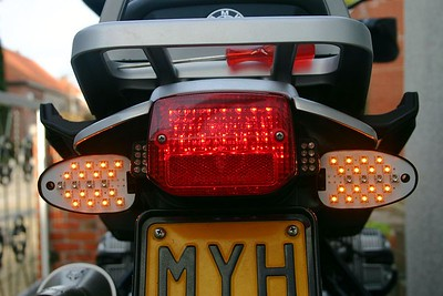 Installation of LED turnsignals and LED rear light