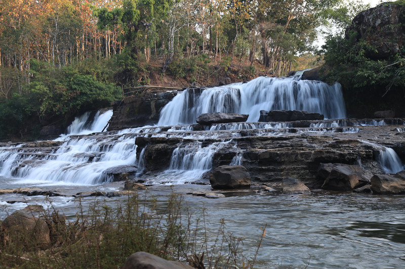 Wodospad w Tad Lo