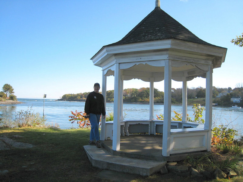 The gazebo at Dockside Guest Quarters