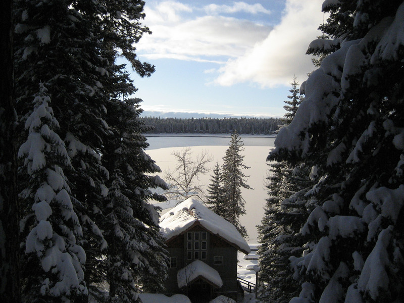 Cabin outside of Mccall