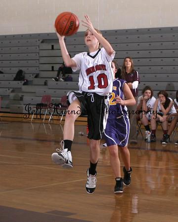 UGMS Girls Basketball 1-12-12