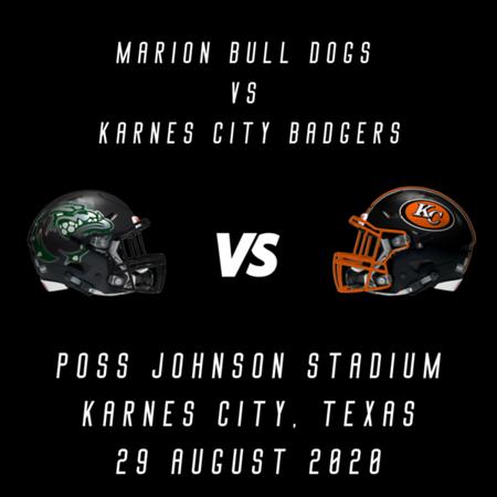2020 Karnes City  vs Marion
