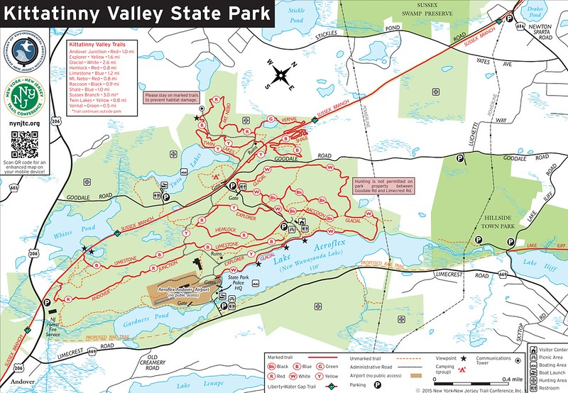 Kittatinny Valley State Park (Kittatinny Valley Area Trails)