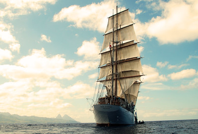 Sailing on a Sea Cloud
