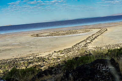 Spiral Jetty and Surrounding Area