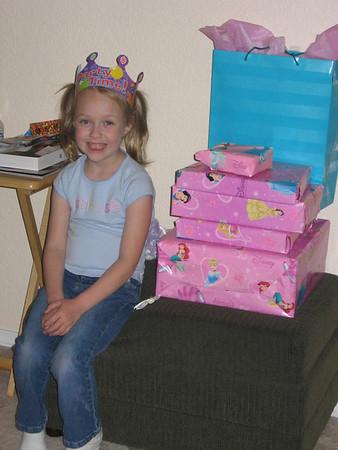 Megan's 6th Birthday