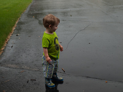Playing in the Rain, June 3013