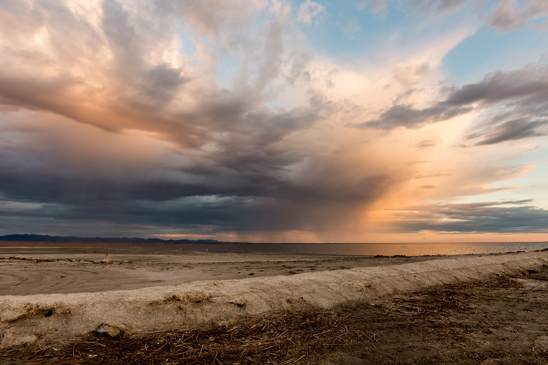 Storm south of the Salton Sea