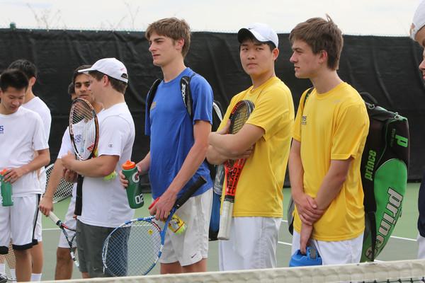 140410 Tennis Boys Varsity v Whitfield