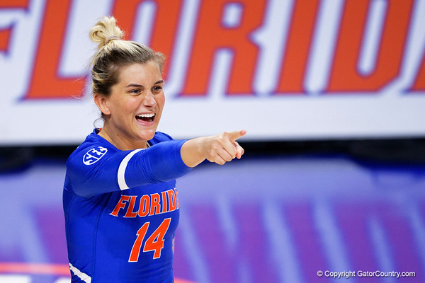 Florida Gators Volleyball vs Missouri Tigers  10-21-2018