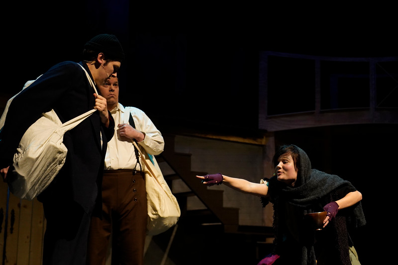 """The Gardner-Webb Theatre Department presents their production of the musical """"Sweeney Todd"""", directed by Dr. Chris Nelson and Dr. Stafford Turner. The show will open on Feb. 21 and will run through Feb. 24 in Dover Theater."""