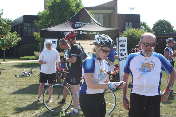 2012 Fight for Air Ride - Lake Tour Bike Trek