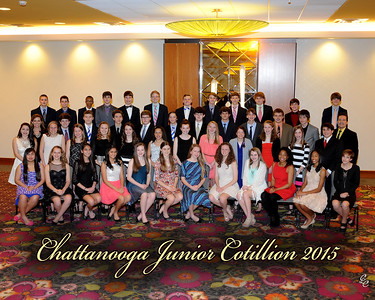Chattanooga Cotillion 8th grade 2015