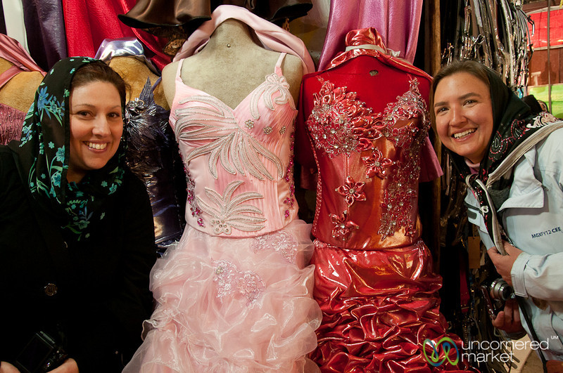 Party Dresses in Esfahan, Iran