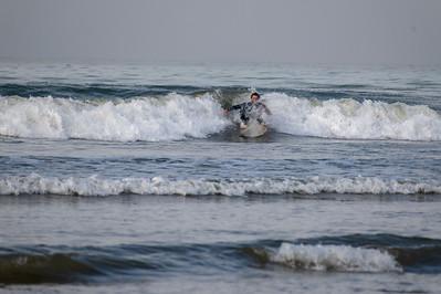 Surfer down