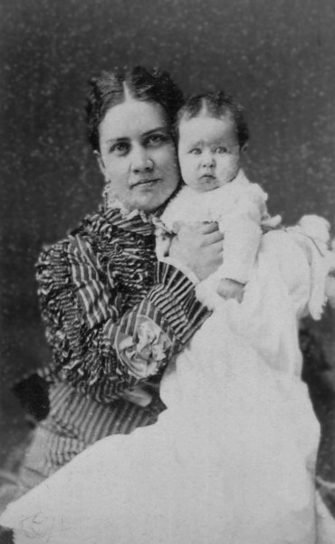 Eliza Chidgey Gale, and her daughter Jessie R. Gale (born 1875)