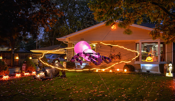 2015 Halloween Houses