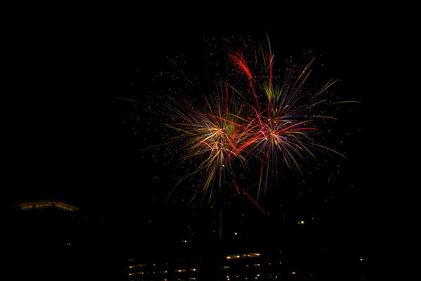 Labor Day Fireworks 2012 Fader Density Filter