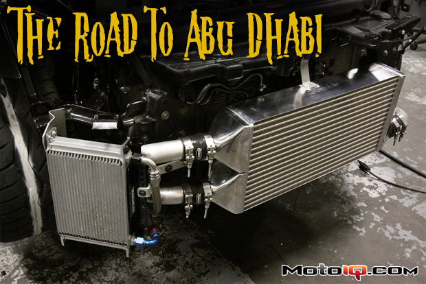 The Road to Abu Dhabi Part Two- Getting There is Half the Fun