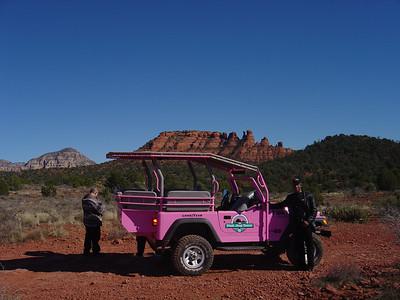 Pink Jeep Tour of Sedona