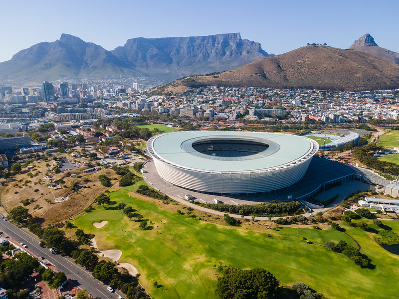 Cape Town Stadium, Green Point, South Africa