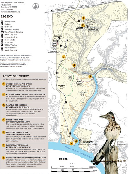 Seminole Canyon State Park & Historic Site (Trails)