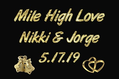Nikki & Jorge Wedding - May 17, 2019