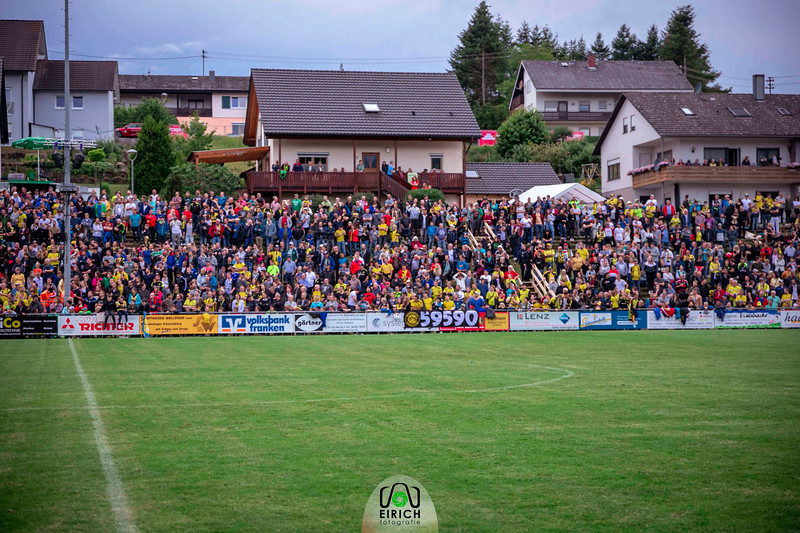 Testpiel zwischen FC Schweinberg und Borussia Dortmund
