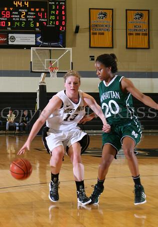Army vs Manhattan Women's Basketball