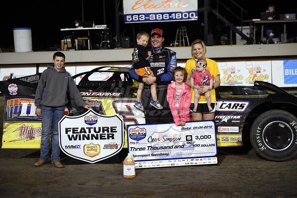 2016 Lucas Oil MLRA,  Davenport Speedway