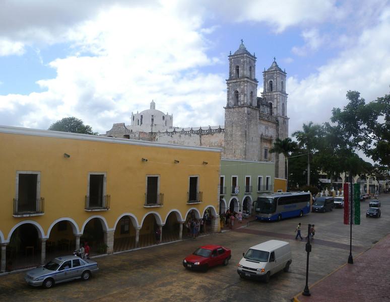 San Bernadino Sisal - the oldest permanent church in the Yucatan