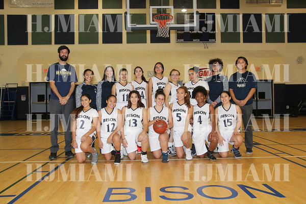 Reagan Girls Varsity Basketball 1/08/18