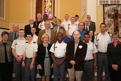 First Baptist Church group