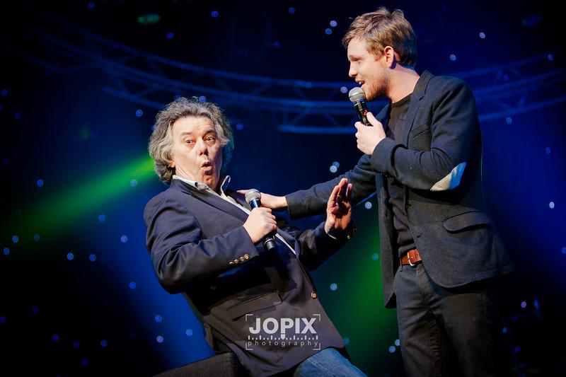 Johan Verminnen en Jelle Cleymans