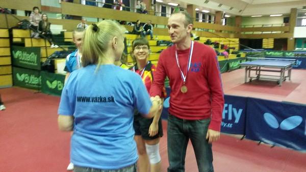 M SR stolný tenis SŠ - 22.-23.4.2015, Bratislava