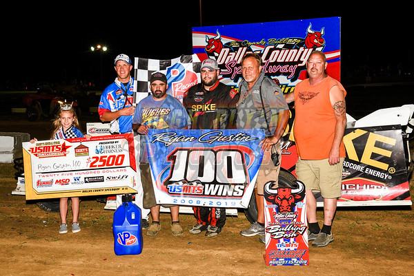 8-15-2019  DALLAS COUNTY USMTS GUSTIN Wins 100th USMTS Race Dallas County  Urbana , MO