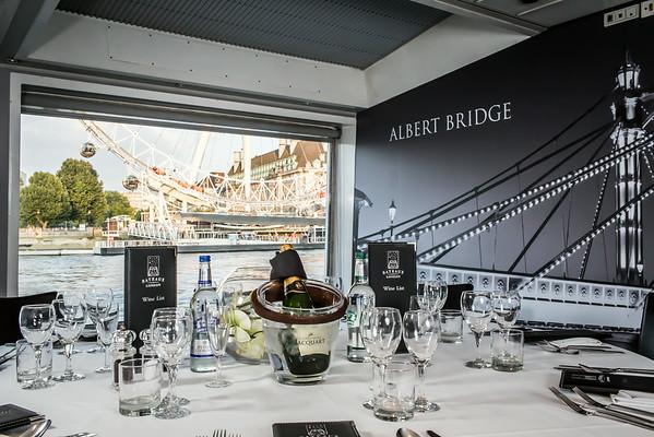 Bateaux London - Dinner Menu