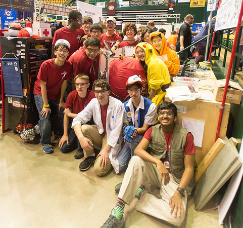 FIRST FRC 2014 Greater DC Regional TEAM 449