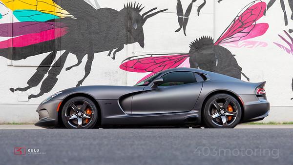 '14 Viper GTS - Matte Grey