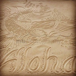 Cool little sand art feature at the #andaz on #maui. www.mbphotographymaui.com