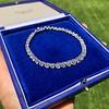 9.50ctw Round Brilliant Diamond Tennis Bracelet 33