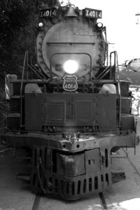 Front photo of Union Pacific Big Boy