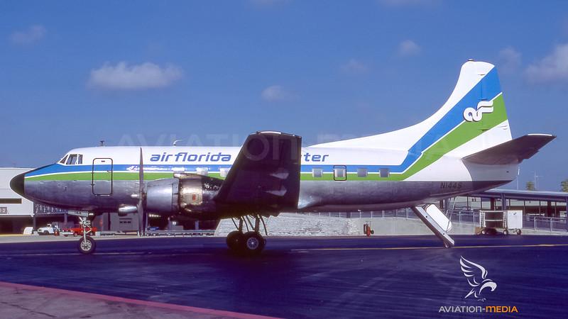 Air Florida Commuter Martin M-404 N144S